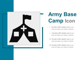 Army Base Camp Icon