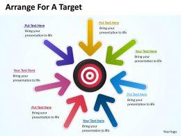 Arrange For A Target 2
