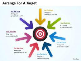 Arrange For A Target