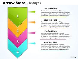 Arrow 4 Steps diagram 8