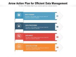Arrow Action Plan For Efficient Data Management