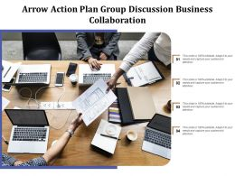 Arrow Action Plan Group Discussion Business Collaboration