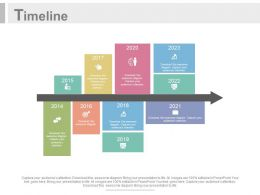 Arrow And Tags Design Timeline For Business Powerpoint Slides