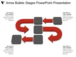 Arrow Bullets Stages Powerpoint Presentation