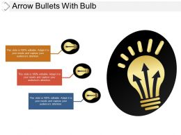 Arrow Bullets With Bulb