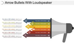 Arrow Bullets With Loudspeaker