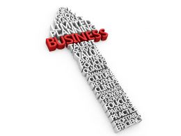 Arrow Business Design Stock Photo