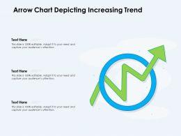 Arrow Chart Depicting Increasing Trend