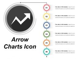Arrow Chart Icon 11