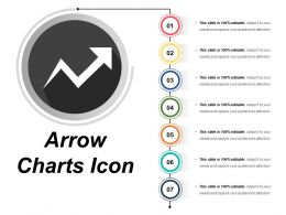 Arrow Chart Icon 12