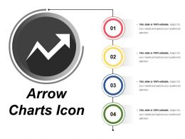 Arrow Chart Icon 9