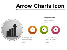 Arrow Charts Icon 3
