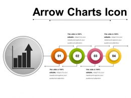 Arrow Charts Icon 4