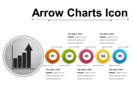 Arrow Charts Icon 5