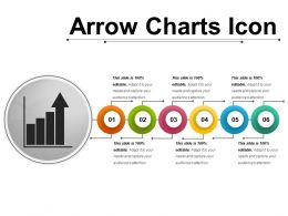 Arrow Charts Icon 6