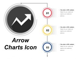 Arrow Charts Icon 8