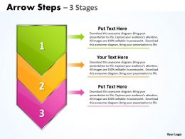 Arrow colorful 3 Stages 20