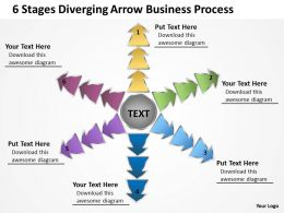 arrow free business powerpoint templates process Arrows Software