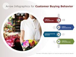 Arrow Infographics For Customer Buying Behavior