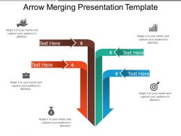 Arrow Merging Presentation Template