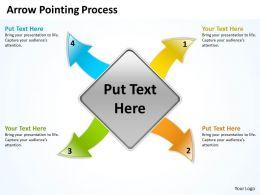 Arrow Pointing Process 5