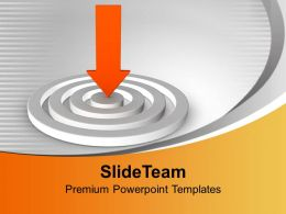 arrow_pointing_towards_target_achievement_business_powerpoint_templates_ppt_themes_and_graphics_0313_Slide01
