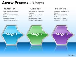 Arrow Process 3 stages 2