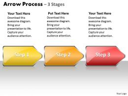 Arrow Process 3 Stages Style 1