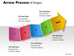 Arrow Process 4 stages 18