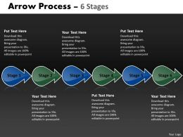 Arrow Process 6 Stages 10