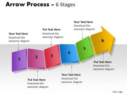 Arrow Process 6 stages 6