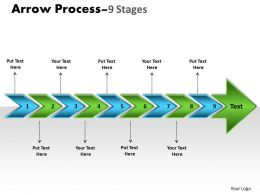 Arrow Process 9 Stages 5
