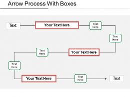 Arrow Process With Boxes