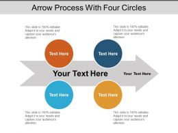 Arrow Process With Four Circles