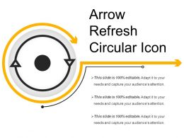 Arrow Refresh Circular Icon