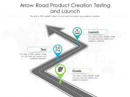 Arrow Road Product Creation Testing And Launch