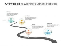 Arrow Road To Monitor Business Statistics