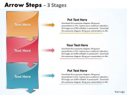 Arrow Steps 3 Stages 21