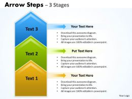 Arrow Steps 3 Stages 22