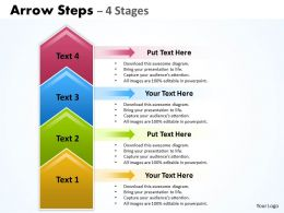 Arrow Steps 4 Stages 10