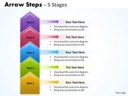 Arrow Steps 5 Stages