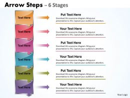 Arrow Steps 6 Stages boxes 19