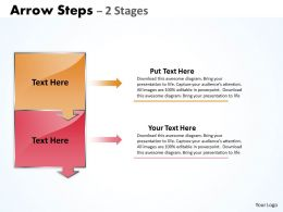 Arrow Steps diagram 2 Stages 4