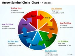 arrow_symbol_pie_circle_showing_circular_flow_in_process_chart_7_stages_powerpoint_templates_0712_Slide01