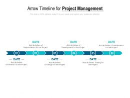 Arrow Timeline For Project Management