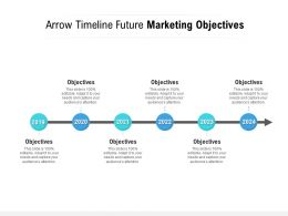 Arrow Timeline Future Marketing Objectives