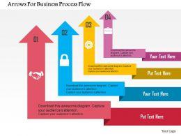 arrows_for_business_process_flow_flat_powerpoint_design_Slide01