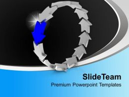 arrows_interconnected_in_circular_manner_powerpoint_templates_ppt_themes_and_graphics_0313_Slide01