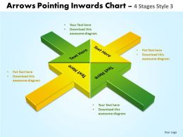Arrows Pointing Inwards Chart 4 8