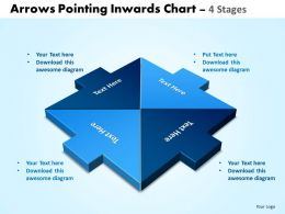 Arrows Pointing Inwards Chart 4 Stages 7